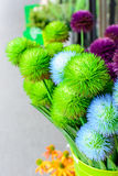 Colorful of Artificial flower Stock Photos