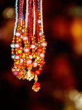Colorful Artificial Jewelry Stock Photography