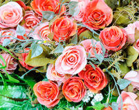 Colorful artificial rose Royalty Free Stock Photography