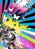 Colorful artistic background royalty free stock photography