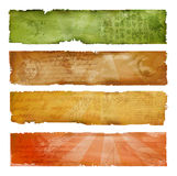 Colorful artistic banners Royalty Free Stock Image
