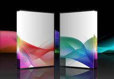 Colorful Artistic Box Designs Stock Images