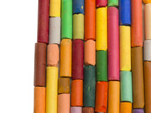 Colorful artistic crayons Stock Photography