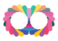 Colorful artistic design Royalty Free Stock Images