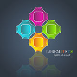 Colorful artistic design and background Stock Photos