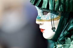 Colorful artistic mask Royalty Free Stock Image