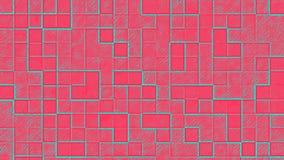 Colorful artistic tetris cubes background Stock Photos
