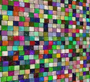 Colorful artistic tile Stock Photos