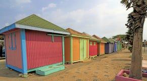 Colorful Aruba Souvenir Shops Stock Image