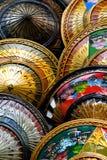 Colorful Asian Hats Stock Photos