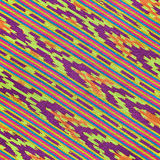 Colorful Asian style fabric texture Stock Photos