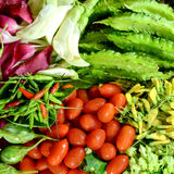 Colorful Asian Vegetables. Royalty Free Stock Images