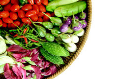 Colorful Asian Vegetables. Royalty Free Stock Photo