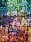 Colorful asphalt royalty free stock images