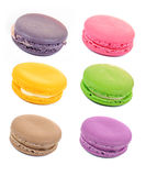 Colorful assorted macaroons Royalty Free Stock Photography