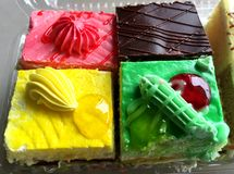 Colorful Assorted Pastries Stock Photography