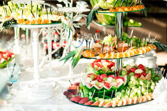 Colorful assortie from  fruits Stock Photos