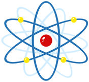 Colorful atom Royalty Free Stock Photos