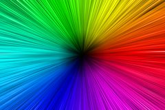 Colorful Aura Stock Photography