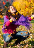Colorful autumn 3 Royalty Free Stock Image