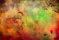 Colorful autumn background Stock Photo