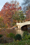 Colorful autumn at Central Park Royalty Free Stock Images