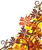 Colorful autumn design Stock Images