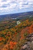 Colorful autumn foliage. Beautiful colorful autumn foliage in New England Royalty Free Stock Image