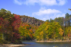 Colorful autumn foliage. Beautiful colorful autumn foliage in New England Royalty Free Stock Photos