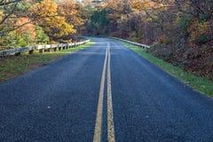 Autumn foliage on the Blue Ridge Parkway. Colorful autumn foliage along the Blue Ridge Parkway located in Virginia, USA Royalty Free Stock Photos