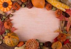 Colorful Autumn Frame Royalty Free Stock Photos