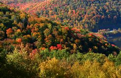 Colorful Autumn Landscape Stock Photo
