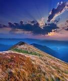 Colorful autumn landscape stock images
