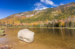 Colorful Autumn landscape in White mountain National forest, New Stock Photo
