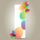 Colorful autumn leaves banner Royalty Free Stock Photography