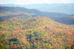 Colorful autumn mountain Royalty Free Stock Images