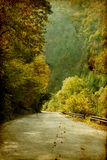 Colorful autumn in the mountains Royalty Free Stock Photography