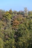 Colorful autumn Nature near Prague, Czech Republic Stock Photo