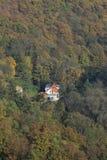 Colorful autumn Nature near Prague, Czech Republic Royalty Free Stock Photos