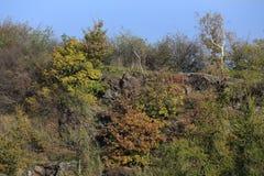 Colorful autumn Nature near Prague, Czech Republic Stock Photos
