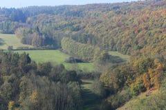 Colorful autumn Nature near Prague, Czech Republic Royalty Free Stock Photo