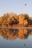 Colorful Autumn Pond Royalty Free Stock Images