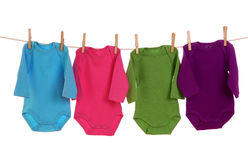 Colorful baby goods Stock Images