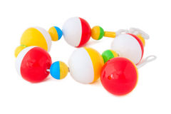 Colorful Baby Rattle Royalty Free Stock Images