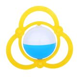 Colorful baby rattle Stock Images