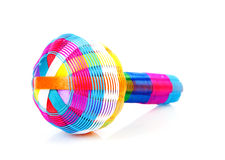 Colorful baby rattle toy Royalty Free Stock Photography