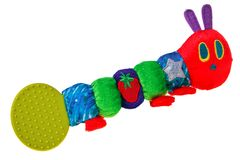 Colorful baby toy rattle bug. Royalty Free Stock Photos