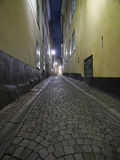 Colorful back alley Royalty Free Stock Photos