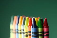 Colorful Back to School Crayons Royalty Free Stock Image