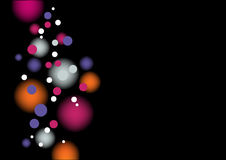 Colorful Background. With Shining Lights Royalty Free Stock Image